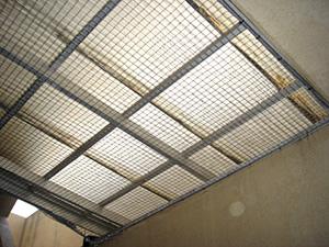 ハト・有害鳥コントロール 有害鳥防鳩網設置