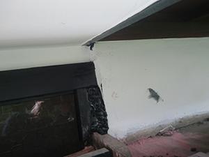 屋根板ついてない穴